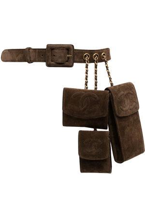 CHANEL 1990s CC Triple Set belt bag