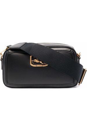Etro Calf leather logo-plaque bag