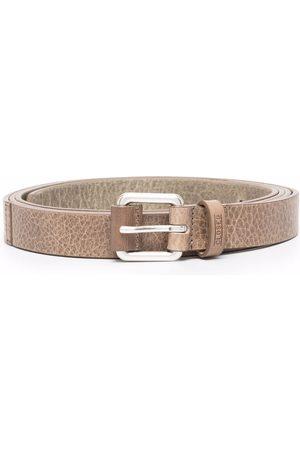 Closed Slim-cut leather belt