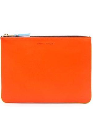 Comme des Garçons Super Fluo leather wallet