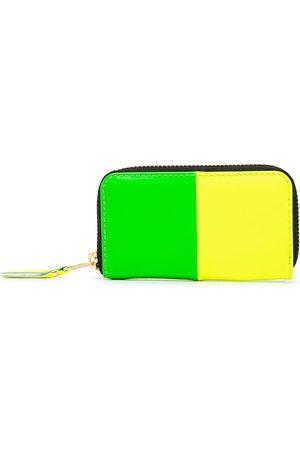 Comme Des Garçons Wallet Colour-block zip-around wallet