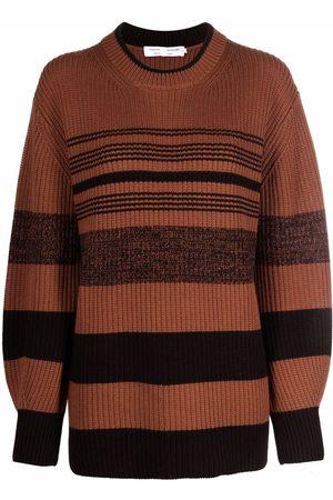 Proenza Schouler White Label Lofty stripe ribbed-knit jumper