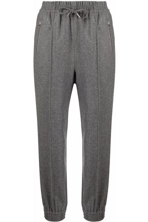 ERMANNO SCERVINO Drawstring wool trousers