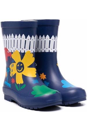 Stella McCartney Floral wellington boots