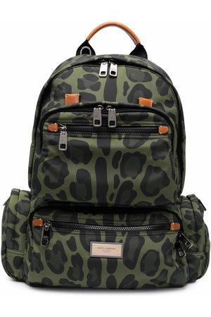 Dolce & Gabbana Leopard-print backpack