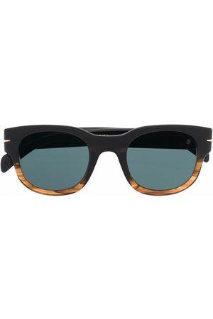 DB EYEWEAR BY DAVID BECKHAM Two-tone square-frame sunglasses