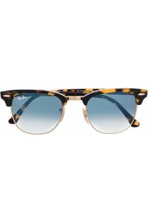 Ray-Ban Clubmaster tortoiseshell-frame sunglasses