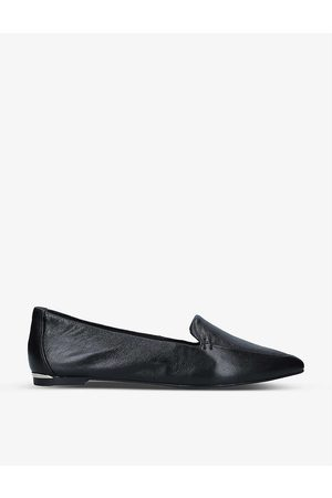 Carvela Landed pointed-toe leather loafers