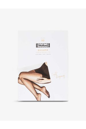 Wolford Individual 10 stretch-knit tights