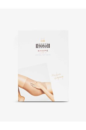 Wolford Luxe Control 9 stretch-knit tights