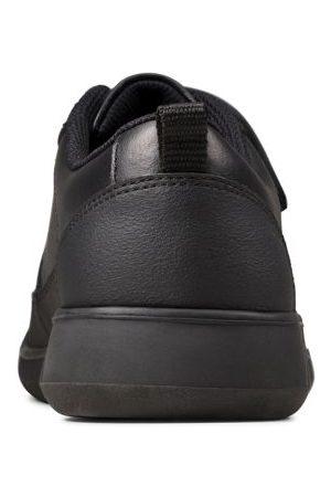 Clarks M&S Unisex Boys Girls Kids' Leather Riptape School Shoes (Youth size 3-9) - 3G