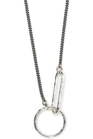 Werkstatt:München Necklaces - Hammered-hoop necklace