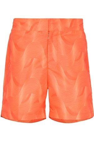 Frescobol Carioca Men Swim Shorts - Cotton-jacquard shorts