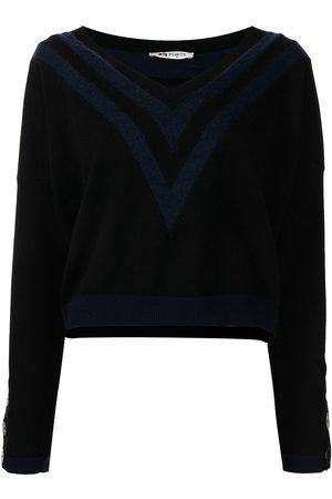 Ports 1961 Chevron-knit jumper - and