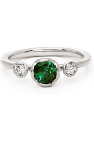 ANNOUSHKA Women Rings - 18kt white gold tourmaline diamond ring