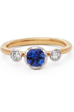 Annoushka Women Rings - 18kt diamond tanzanite engagement ring