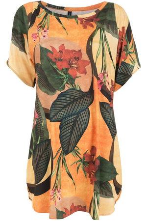 Lygia & Nanny Floral leaf print T-shirt dress