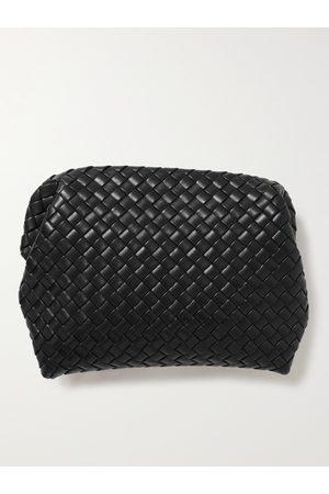 Bottega Veneta Hydrology Intrecciato Leather Pouch