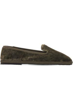 AG 10mm Velvet Loafers