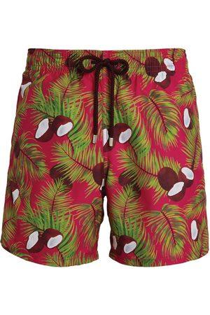 Vilebrequin Men Swim Shorts - Coconut Print Swim Shorts
