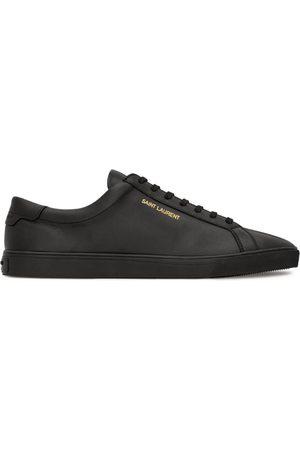 Saint Laurent Leather Court Classic SL/10 Sneakers