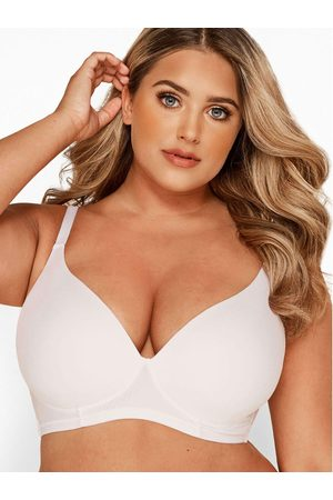 Yours Padded Moulded Non Wired Bra