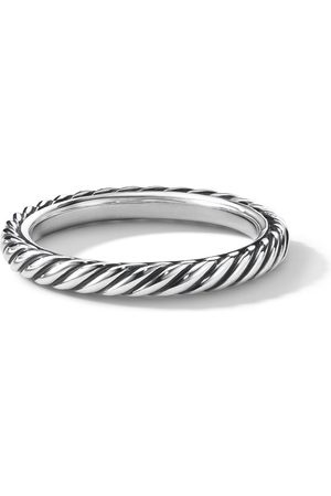 David Yurman 3mm Cable Collectibles stack ring