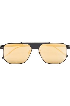 Bottega Veneta Men Sunglasses - Mirrored square-frame sunglasses