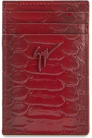 Giuseppe Zanotti Men Purses & Wallets - Albert crocodile-effect cardholder