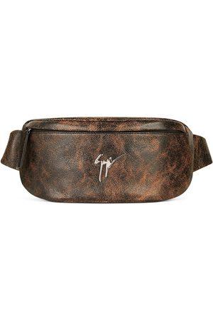 Giuseppe Zanotti Men Belts - Mirto leather belt bag