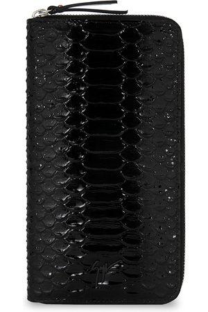 Giuseppe Zanotti Men Purses & Wallets - Samuel crocodile-effect wallet