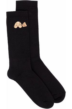 Palm Angels Bear-motif socks