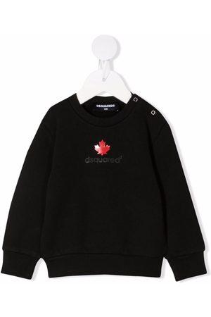 Dsquared2 Sweatshirts - Logo-print cotton sweatshirt