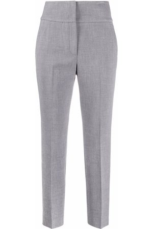 PESERICO SIGN High-rise slim-fit trousers
