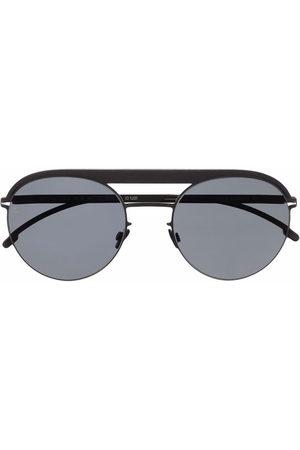 MYKITA Round-frame aviator sunglasses