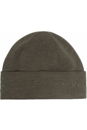 Givenchy Logo-embroidered wool beanie