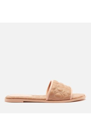 Coach Women Sandals - Women's Olivea Quilted Leather Slide Sandals