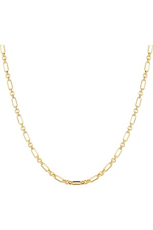 GOLDSMITHS Women Necklaces - 9ct Yellow Gold Belcher Mixed Link Chain Necklace