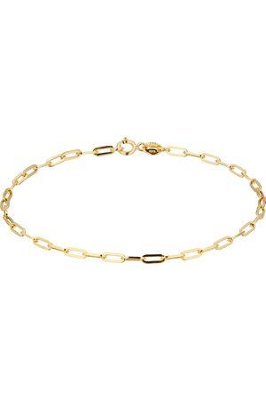 GOLDSMITHS 9ct Yellow Gold Elongated Belcher Chain Bracelet