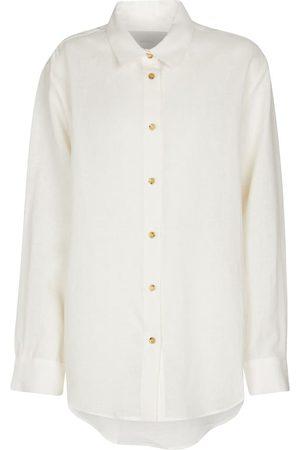ASCENO Women Tops - Milan organic linen shirt