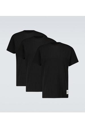Jil Sander Pack of three cotton T-shirts