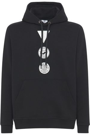 Burberry Badges Cotton Jersey Hoodie