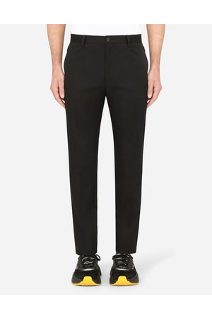 Dolce & Gabbana Trousers and Shorts - Stretch cotton pants male 48