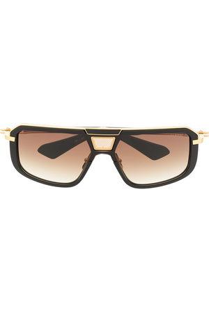 DITA EYEWEAR Men Sunglasses - Two-tone square-frame sunglasses
