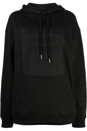 Opening Ceremony Women Hoodies - Box-logo hoodie