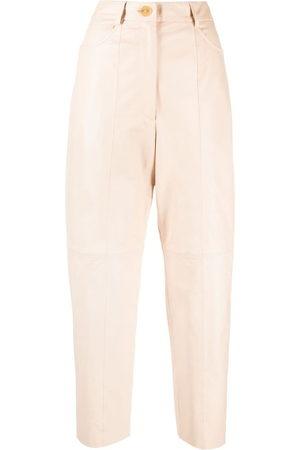 FORTE FORTE Women Trousers - High-waist trousers - Neutrals