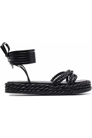 Karl Lagerfeld Sandals - X Kenneth Ize rope sandals