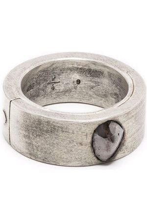 PARTS OF FOUR Rings - Sistema ring (0.98 CT, Chunky Diamond Slab, 9mm, MA+DIA)