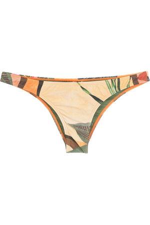 Lygia & Nanny Women Trousers - Poipu leaf-print pants