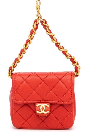 CHANEL Women Purses & Wallets - 1985-1993 mini diamond-quilted flap pouch